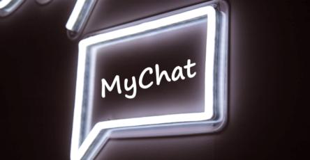 MyChat neon light